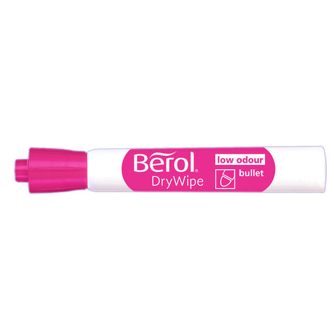 Berol Dry Erase Markers Pink Bullet Tip  Expo Dry Erase Markers