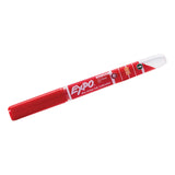 Expo Dry Erase Red, Low Odor, Ink Indicator Fine Tip Marker  Expo Dry Erase Markers