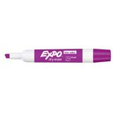 Expo Dry Erase Low Odor Plum Chisel Tip Marker  Expo Dry Erase Markers