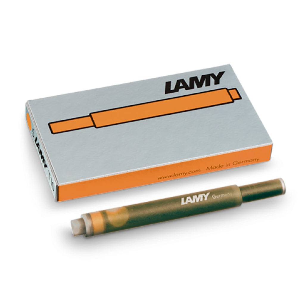 Lamy T10 Bronze Special Edition Fountain Pen Ink Cartridges  Lamy Fountain Pen Ink Cartridges