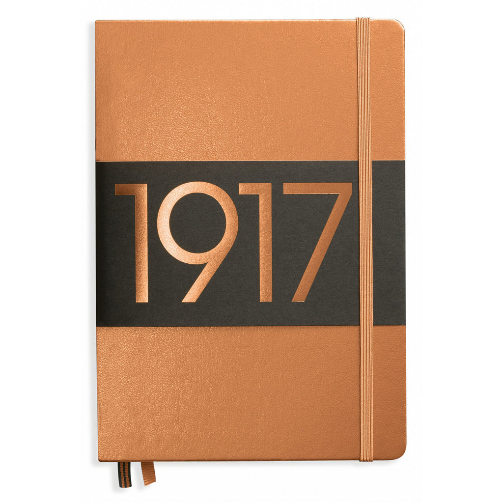 Leuchtturm 1917 Dotted Notebook A5 Medium Copper Anniversary Edition  Leuchtturm1917 Notebook