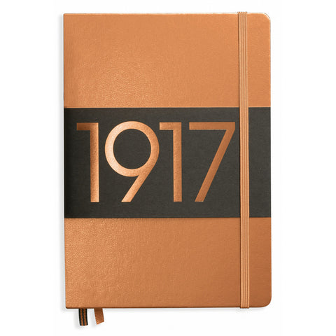 Leuchtturm 1917 Dotted Notebook A5 Medium Copper Anniversary Edition