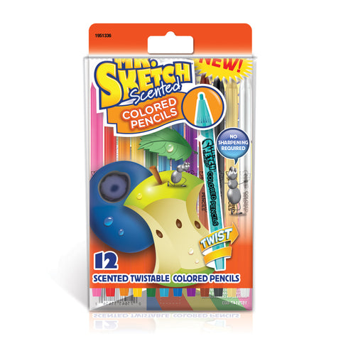 Mr Sketch Scented Pencils 12 Assorted Colors  Paper Mate Pencils
