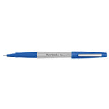 Paper Mate Flair Blue Felt Tip Pen, Ultra Fine  Paper Mate Felt Tip Pen