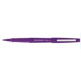 Paper Mate Flair Purple Felt Tip Pen Medium  Paper Mate Felt Tip Pen
