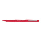 Paper Mate Flair, Red Felt Tip Pen Point Guard  Paper Mate Felt Tip Pen