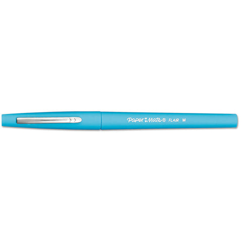 Paper Mate Flair Sky Blue Felt Tip Pen Medium  Paper Mate Felt Tip Pen