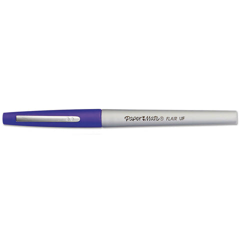 Paper Mate Flair Felt Tip Ultra Fine Purple Pen