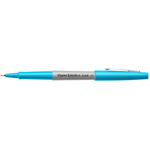 Paper Mate Flair Ultra Fine Turquoise Ink Pen
