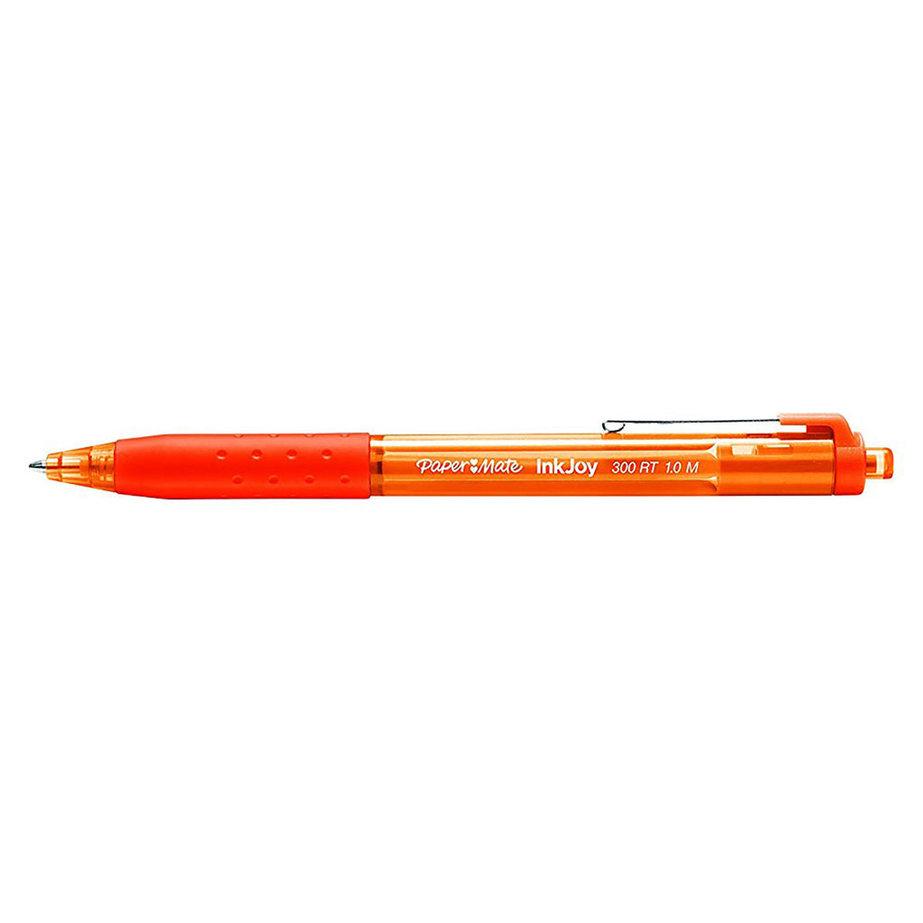 Paper Mate InkJoy Orange Ballpoint Pen 300 RT Retractable Medium Point  Paper Mate Ballpoint Pen