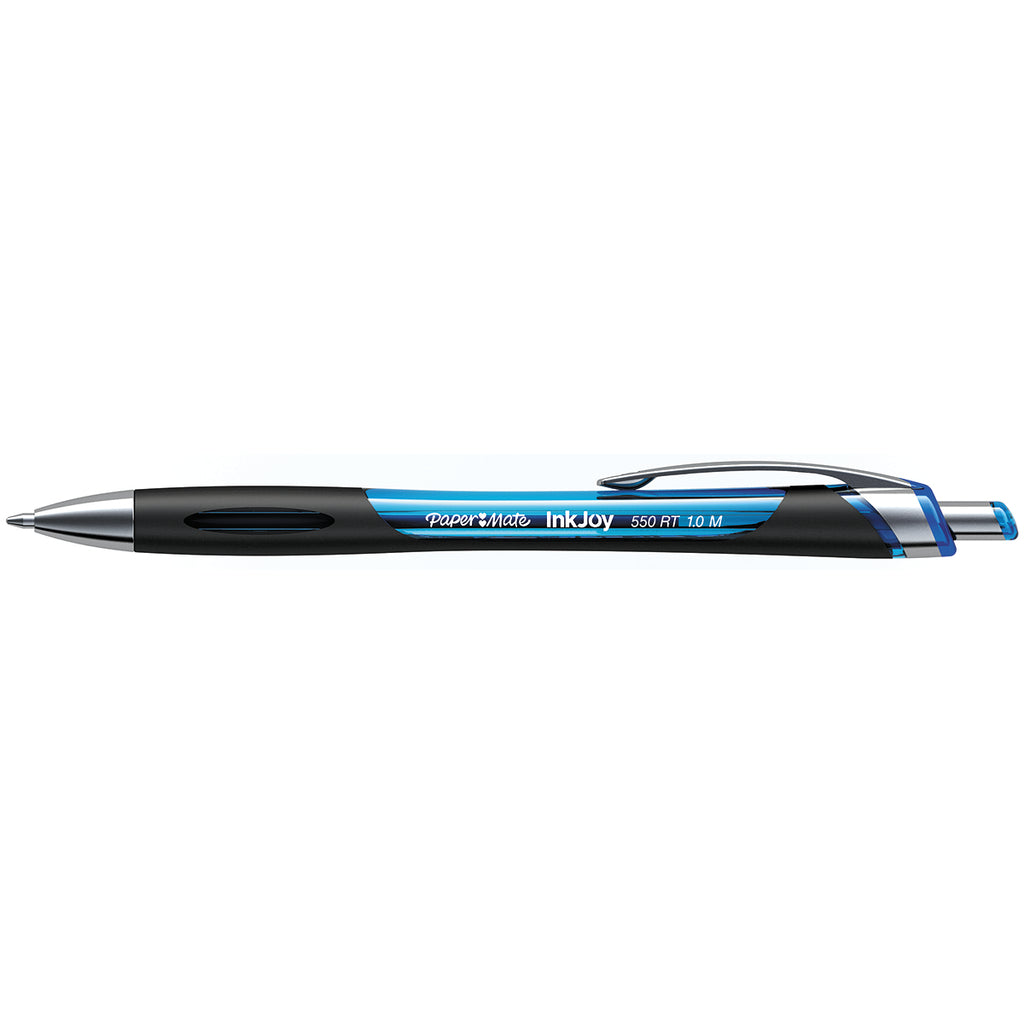 Paper Mate InkJoy 550RT Turquoise Retractable Ballpoint Pen Medium  Paper Mate Ballpoint Pen