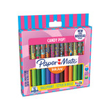 Paper Mate Inkjoy Candy Pop 300 RT Assorted Colors 16 Count, Medium  Paper Mate Ballpoint Pen