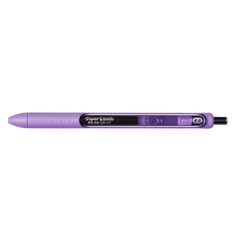 Paper Mate Inkjoy Gel Amethyst Medium Point 0.7 mm Retractable Gel Pen (Amethyst Ink)  Paper Mate Gel Ink Pens