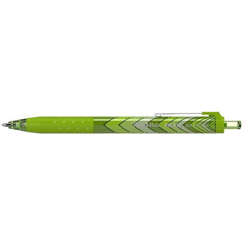 Paper Mate InkJoy Green Pen, 300 RT Retractable 1.0mm Medium Point, Retro Design  Paper Mate Ballpoint Pen