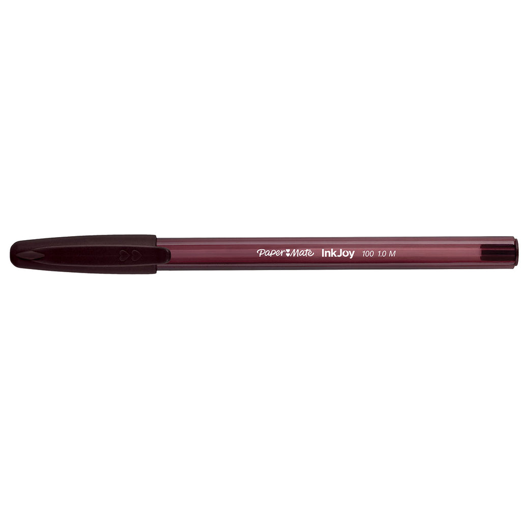 Paper Mate InkJoy Kilometrico Brown Ink Capped Ballpoint Pen Medium Point  Paper Mate Ballpoint Pen