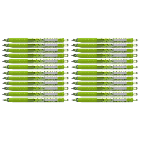 Paper Mate InkJoy 300 RT Light Green Ballpoint Pens Retractable Medium Point, Bulk Pack of 24  Paper Mate Ballpoint Pen
