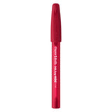Paper Mate InkJoy Mini Red Ink Ballpoint Pen, Capped  Paper Mate Ballpoint Pen