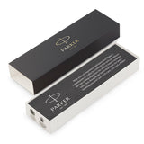 Parker Jotter Bond Street, Matte Black and Chrome, Ballpoint Pen (Black Ink)  Parker Ballpoint Pen