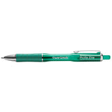 Paper Mate Profile Elite Green Ballpoint Pen 1.4mm Bold  Paper Mate Ballpoint Pen