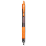 Pilot G2 7 Orange, Fine Tip, Orange Ink Gel Pen, 0.7MM - 31265, Dozen  Pilot Gel Ink Pens