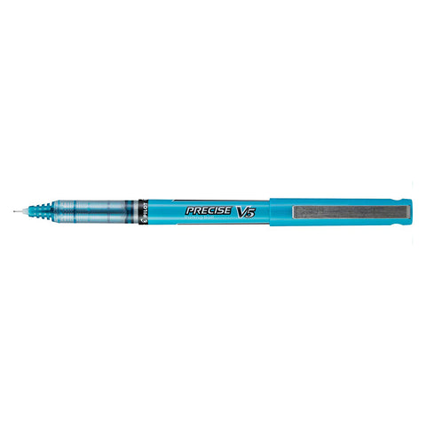 Pilot Precise V5 Turquoise Extra Fine Rolling Ball Pen 0.5mm  Pilot Rollerball Pens