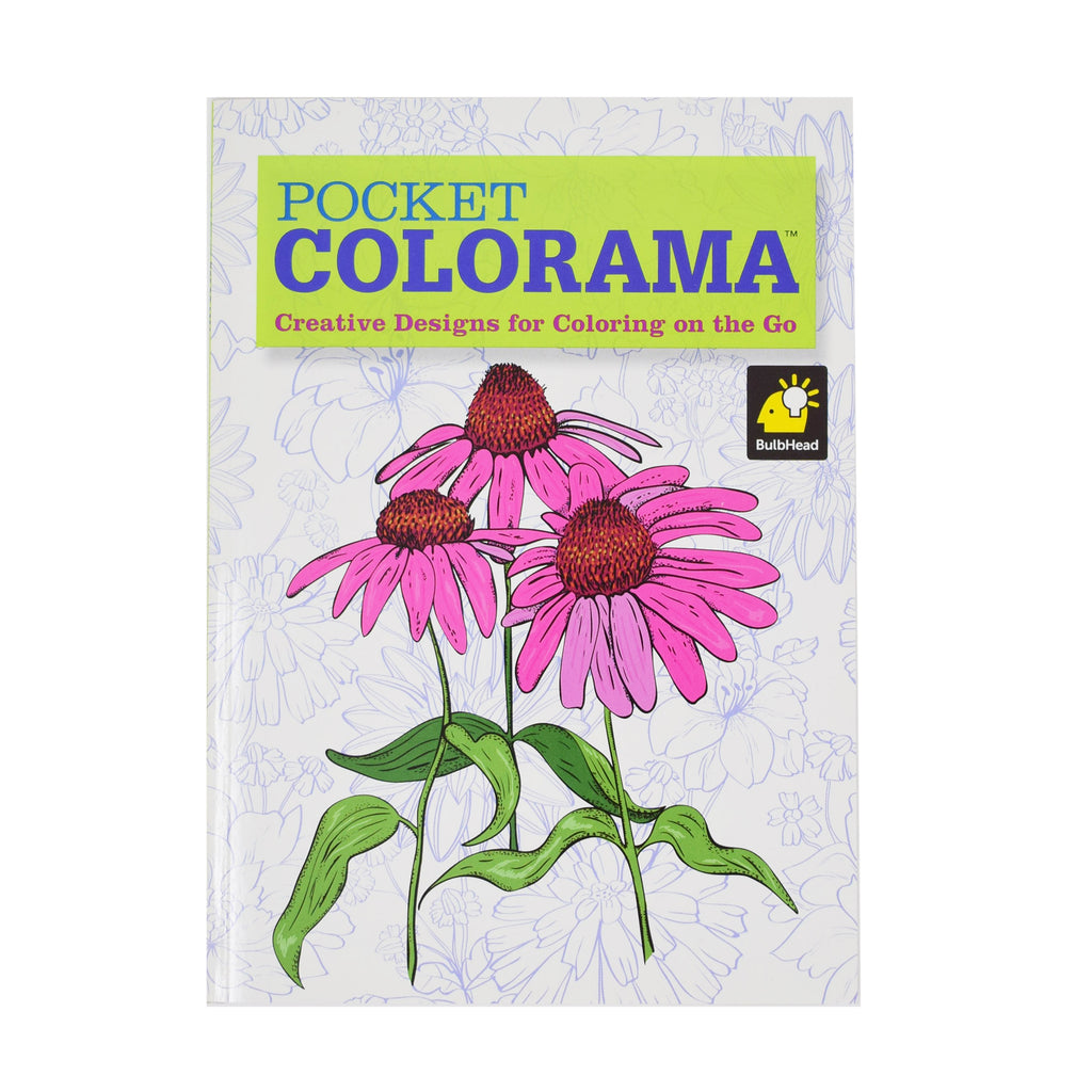 Colorama Adult Coloring Book Pocket Size 5 x 7, 15 Designs  Colorama Coloring Books