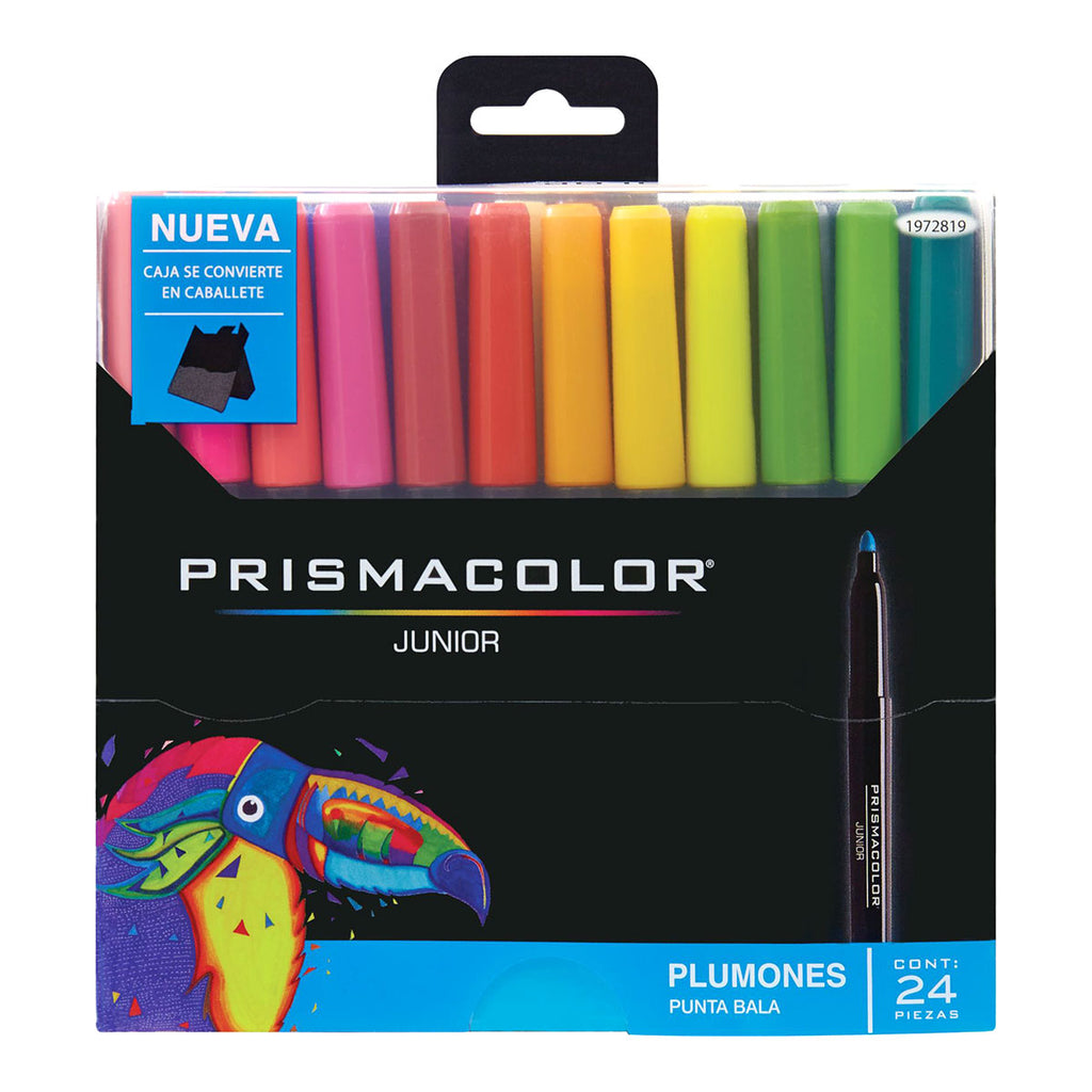 Prismacolor Bullet Tip Markers 24 Assorted Colors