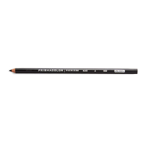 Prismacolor Premier Soft Core Colored Pencils, Black PC 935