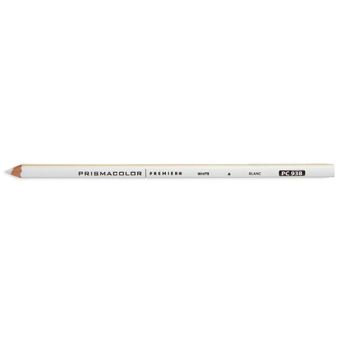 Prismacolor Premier Soft Core Colored Pencils, White PC 938