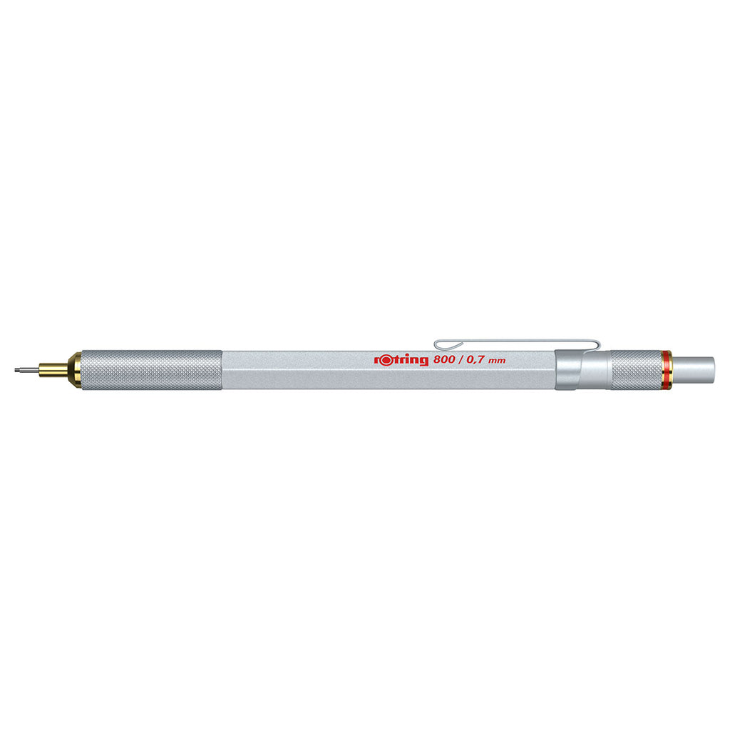 Rotring 800 0.7mm Silver Mechanical Pencil  Rotring Pencil