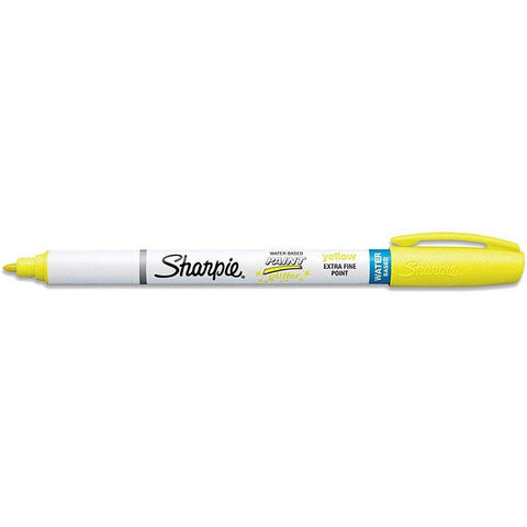 Sharpie Yellow Glitter Marker Extra Fine Point , Sold Individually  Sharpie Markers