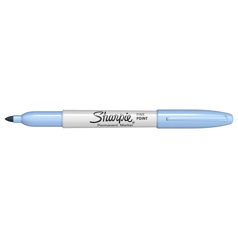 Sharpie Splash Color Blue Ice Fine Point Permanent Marker, Sold Individually