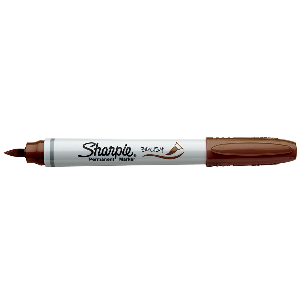 Sharpie Brush Tip Markers  Brown