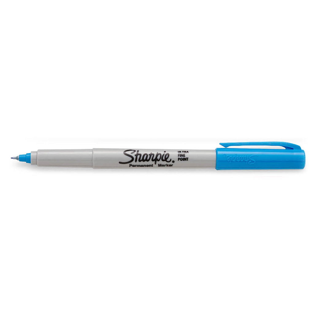 Sharpie Limited Edition Color Burst Ultra Fine Point Permanent Marker Brilliant Blue Sold Individually  Sharpie Markers