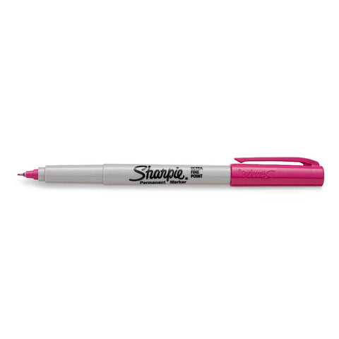 Sharpie Power Pink Limited Edition Color Burst Ultra Fine Point Permanent Marker Power Pink Sold Individually  Sharpie Markers