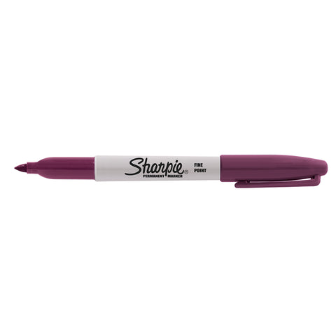 Sharpie Cosmic, Rocket Fuel Red, Fine Point Permanent Marker