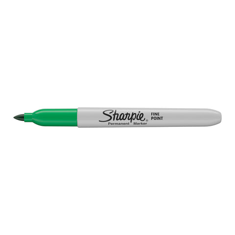 Sharpie Green Fine Point Permanent Marker  Sharpie Markers