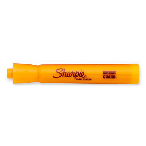 Sharpie Orange Highlighter Chisel Tip Smear Guard Sold Individually