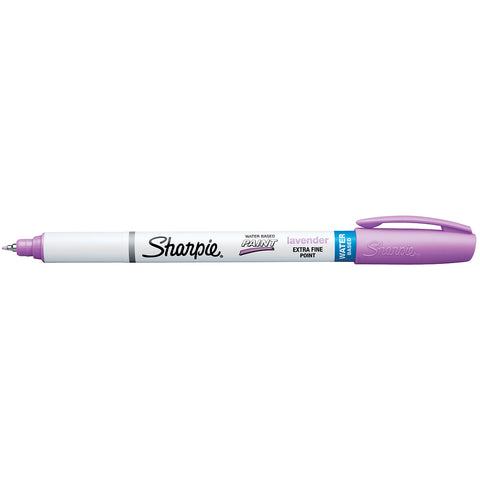 Sharpie Pastel Lavender, Water-Based Paint Marker, Extra Fine  Sharpie Paint Markers