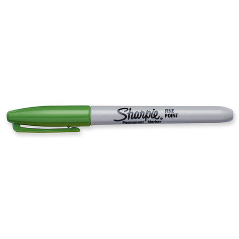 Sharpie Limited Edition 80's Glam Argyle Green Fine Point Permanent Marker  Sharpie Markers