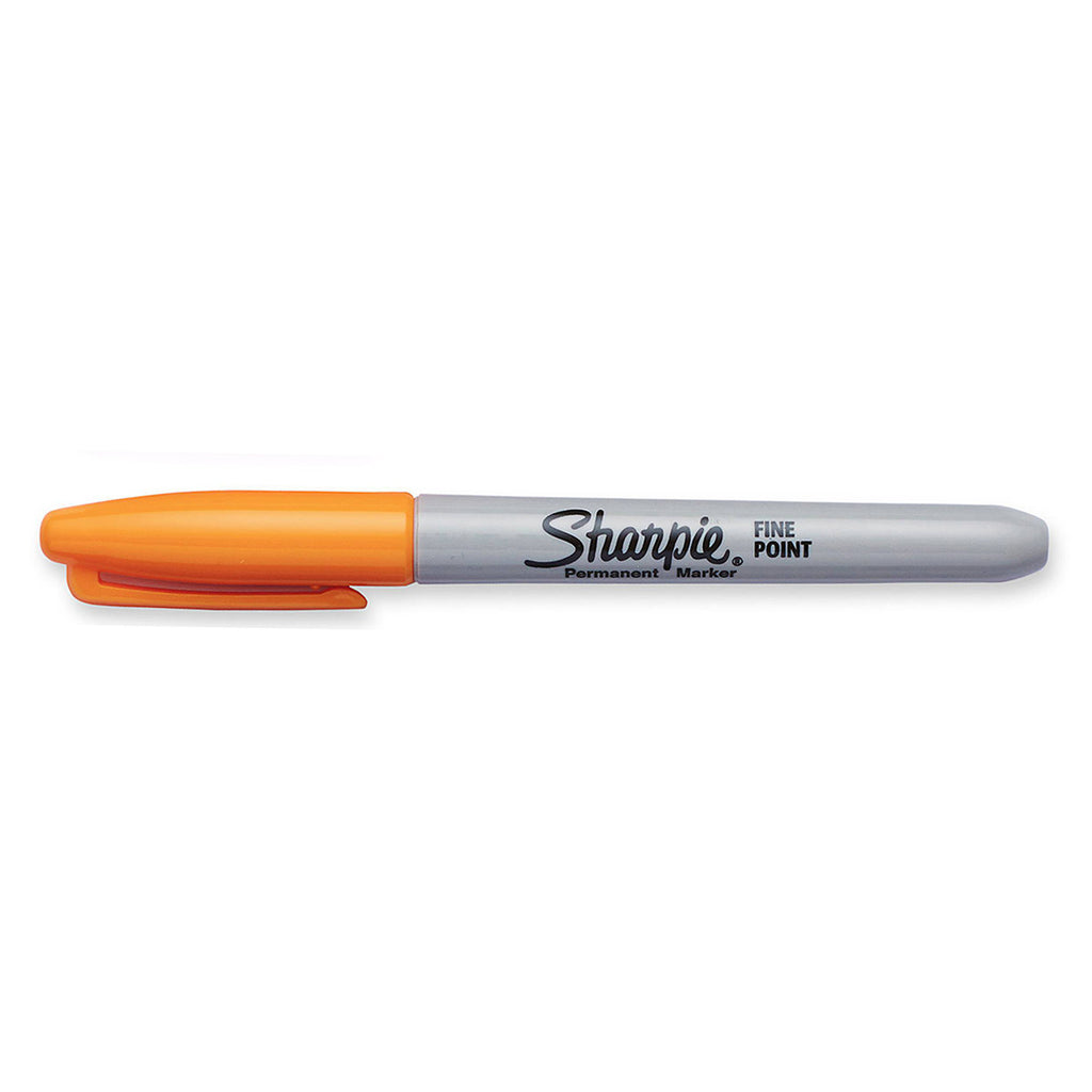 Sharpie Limited Edition 80's Glam Leg Warmer Orange Fine Point Permanent Marker