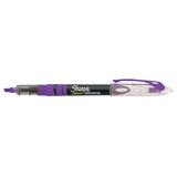 Sharpie Liquid Highlighter Purple Narrow Chisel Tip  Sharpie Highlighter