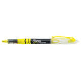 Sharpie Liquid Highlighter Yellow Narrow Chisel Tip  Sharpie Highlighter