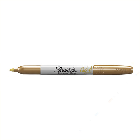 Gold Sharpies, Pack Of 2 Sharpie Gold Markers  Sharpie Markers