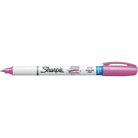 Sharpie Water Based Pastel Metallic Pink Paint Marker, Extra Fine Point  Sharpie Markers
