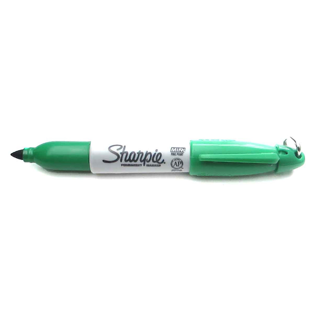 Sharpie Mini Permanent Marker Green Sold Individually  Sharpie Markers