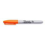 Sharpie Fine Point Orange Permanent Marker, Sold Individually  Sharpie Markers