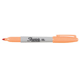 Sharpie Fine Point Peach Permanent Marker, Sold Individually  Sharpie Markers