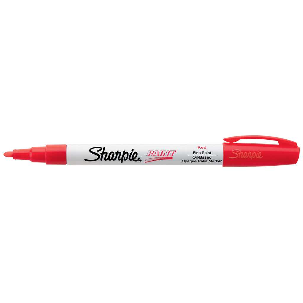 Sharpie Paint Marker Red Fine Point, Oil Based  Sharpie Markers