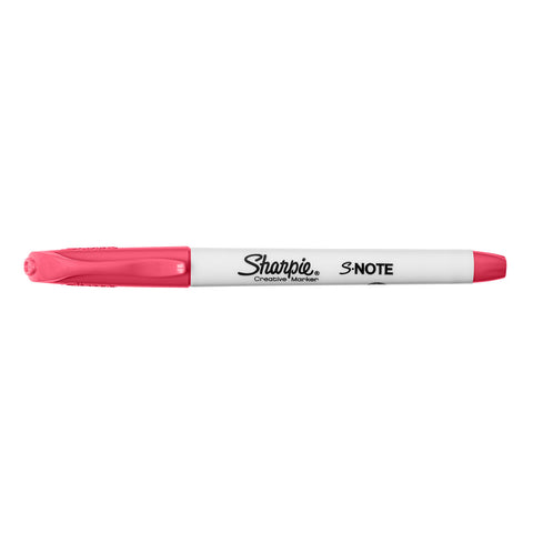 Sharpie S-Note Guava Creative Marker